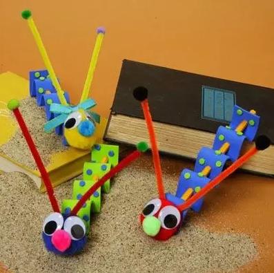 毛根扭扭棒 创意玩法v玩法手工合,100章鱼多种,快来收藏自动翻滚机器烧大集图片