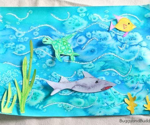 海底世界也是孩子们青睐的主题,但海水变化莫测的光波仅仅靠传统的