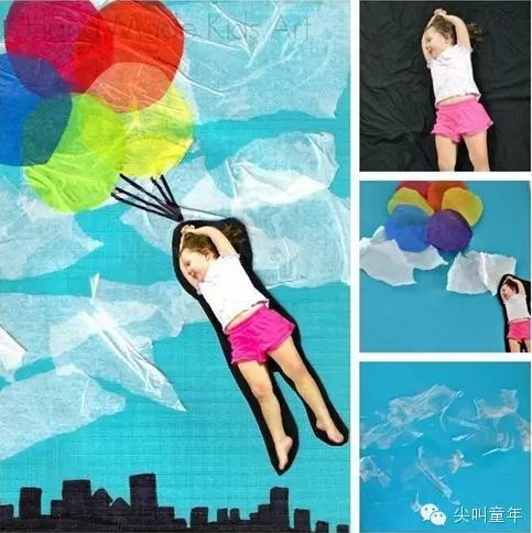 创意绘画 | 城会玩~孩子是画画还是在玩游戏?