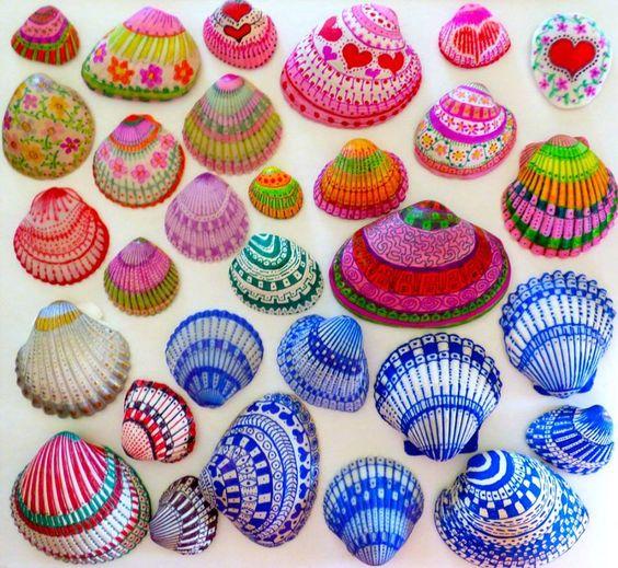 心灵手巧的都可以来试试~ 螺类 |螺类贝壳是制作蜗牛手工的好材料