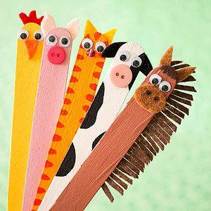 手工| 小小雪糕棍,变成奇妙动物~快来做属于你的动物园