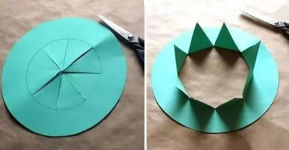 卡纸手工帽子制作图片