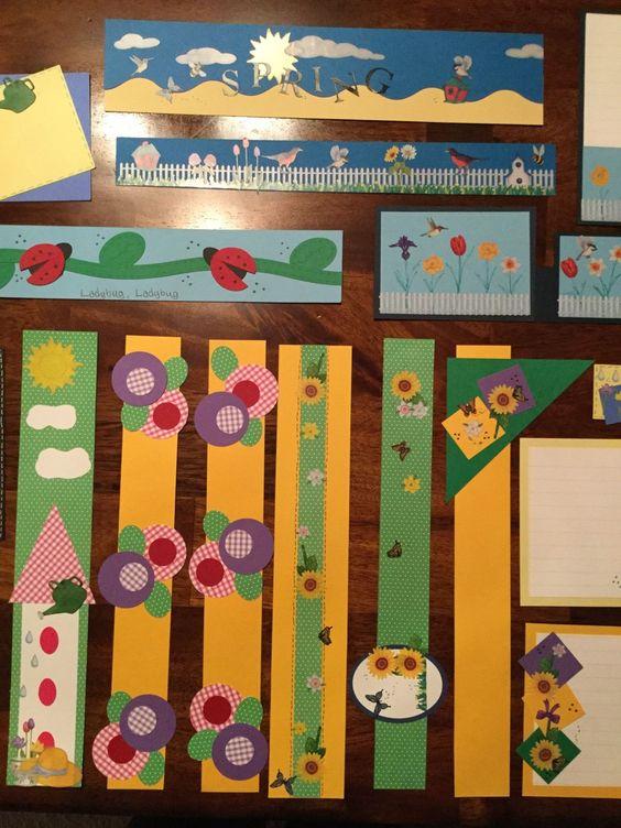 边框| 新学期好不容易做的主题墙,边框当然也要艳压群芳!图片