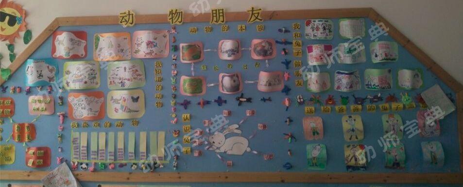 主题墙 | 中班主题墙创设《动物朋友》