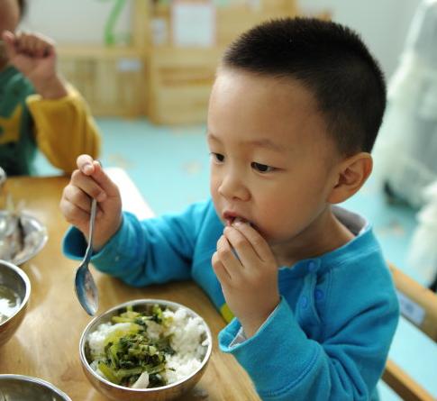 师幼互动   如何培养小班幼儿吃饭的常规?