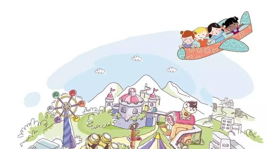旅行棋 设计/涂安琪 虹口区第三中心幼儿园 绘画/黑白兔子 我们美丽