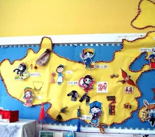 国庆节环创 | 国庆节主题墙及吊饰,热热闹闹过节