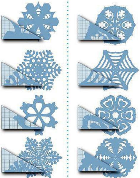 手工   冬天到了,你会剪雪花吗?23总雪花剪纸任你挑选