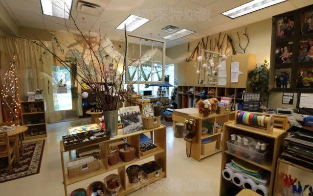 瑞吉欧 | 看美国某瑞吉欧幼儿园如何打造室内环境(实景图)图片