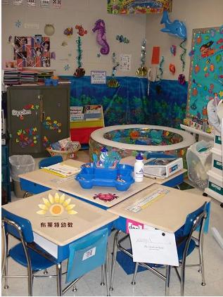 区角布置   不可不知的国外幼儿园阅读区新花样!