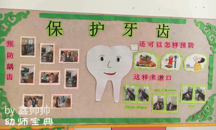 另外通过照片和手工制作的方式展示动物的牙齿,让幼儿间接认识和了解