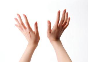 中班英语活动:有趣的手指
