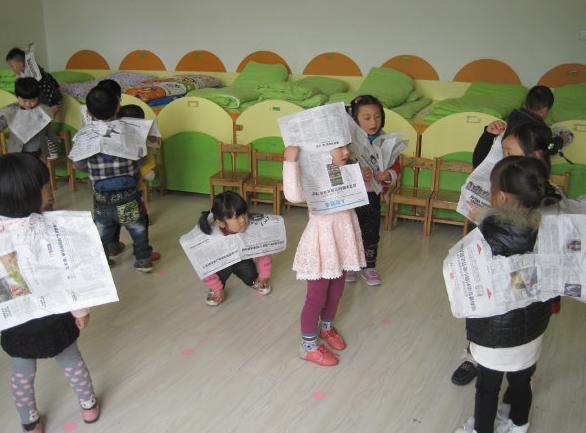 幼儿园小班、中班、大班亲子游戏13例