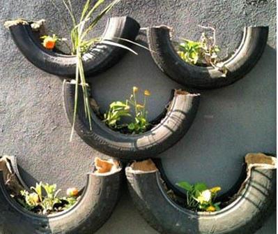 废旧轮胎的无限创意