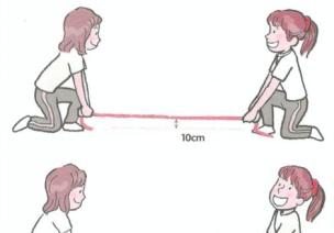 五岁宝宝爆发力体育游戏-绳子-日韩