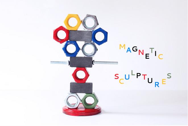 【磁力】磁铁吸铁小游戏,就是这么有磁性~