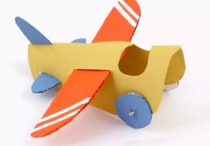 纸卡飞机制作-男孩子们的飞机梦