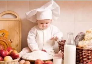 周末带孩子进厨房!