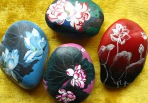 幼儿园大班科学活动:精美的石头会唱歌