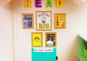 阅读区环创,各个都是精品!