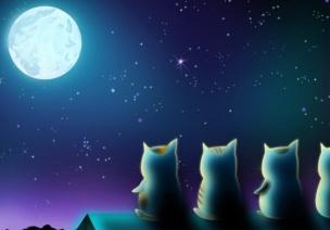 奥尔夫音乐活动:月儿圆