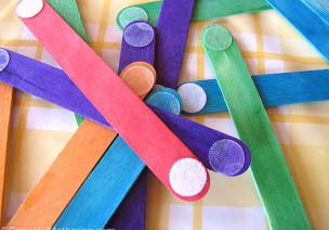 自制玩教具 | 普通的雪糕棍,原來能做出這么高智商的教具!