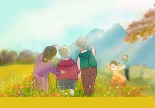 中班社会活动:重阳节