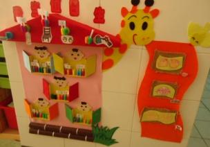 幼儿园互动环境和墙饰的分类