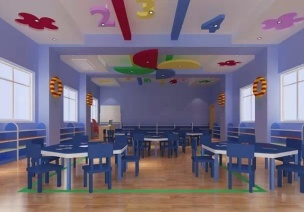 幼儿园装饰----颜色搭配