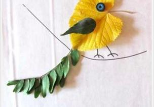20种绝美落叶创意,装饰你的教室吧(上)