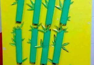 金光闪闪的植物主题墙