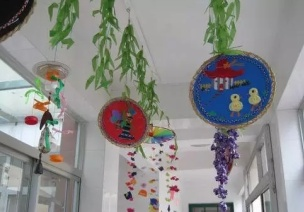 走廊环创-吊饰设计