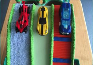 中班科学自制玩教具-哪辆汽车跑的快
