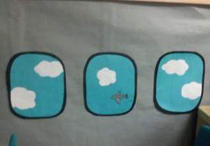 角色区 | 飞机主题的教室全屋环创设计