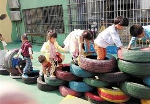 大班特色活动设计:《玩轮胎》教案二