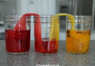 会行走的水-科学实验:颜色混合和毛细现象
