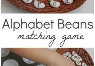 字母配對豆—國外幼兒學英語時玩的小游戲