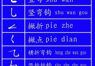 田字格里写数字和汉字的标准格式(下)