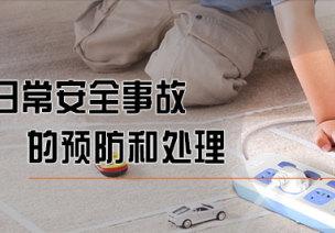 幼儿日常安全事故的预防和处理