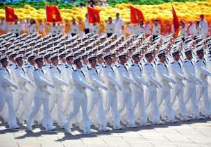 阅兵-海军方队