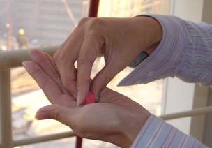 蒙台梭利 | 感官区工作示范:粉红塔
