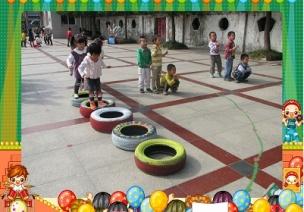 大班特色活动设计:《玩轮胎》教案一