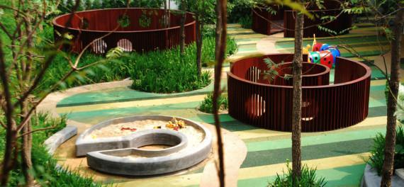 幼儿园景观设计之植被的选择