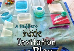 邀请游戏:幼儿室内玩水活动—来自美国