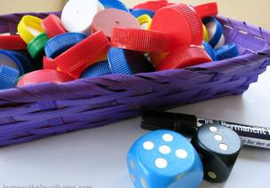 有趣的数学游戏:瓶盖游戏-来自英国