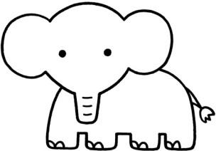 日本治愈系简笔画-野生动物(1)