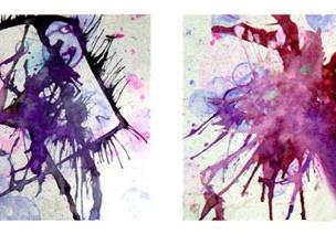 小班彩色画教案:水泡泡里的奥秘