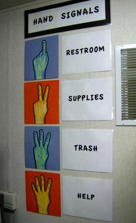 举手有奥秘,拯救课堂的手势板