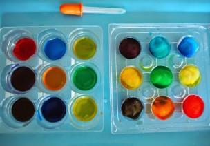 会变化的颜色,适合幼儿的精细运动