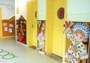 如何打造幼儿园传统文化的走廊布置?